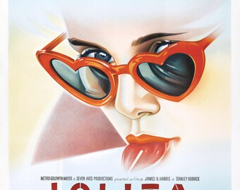 Lolita Movie POSTER (1962) Crime/Drama