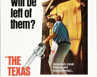 TheTexas Chainsaw Massacre Movie Poster Horror Leatherface