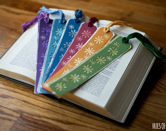 ORIGINAL Hand-Painted Watercolor Bookmarks