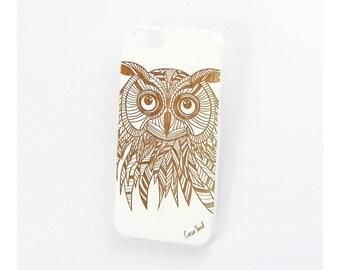 White Owl iPhone 7 case, iphone 6s case iphone 6 case iphone 5 case iphone 6s plus case iphone 6 plus case