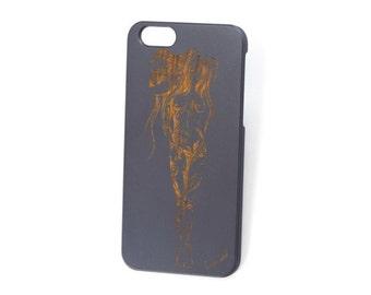 iPhone 7 case, wood iPhone 6s case,iPhone cases,wood iPhone 6 case,wood iPhone 6 Plus case, wood iPhone 7 plus case,iPhone cases Tribal Girl