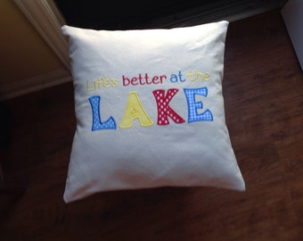 Pillow for lakehouse