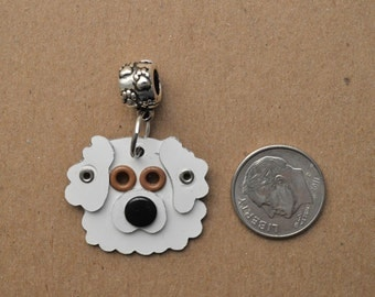 Great Pyrenees Pendant Pet Dog Metal Charm