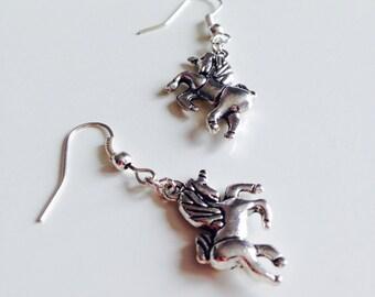 Sale | Unicorn | Horse | Fantasy | Equestrian | Earrings