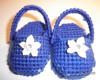Blue Baby Doll Clogs
