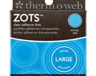 Zots Large - Clear Adhesive Dots