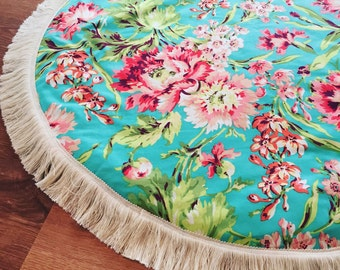 Large bliss bouquet baby play mat, nursery rug, kids decor