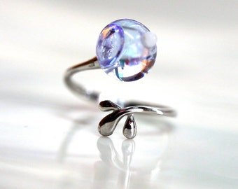 10 MM Resin in Glass ball ring