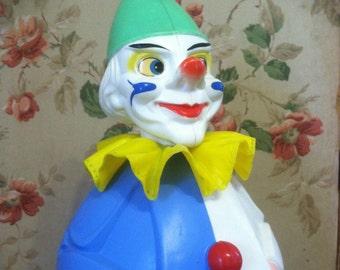 Vintage Rolli-Toys Clown • Western Germany