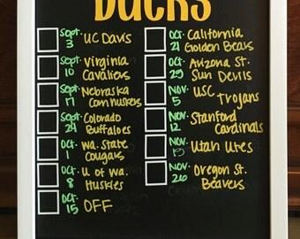 Oregon Duck Score Board