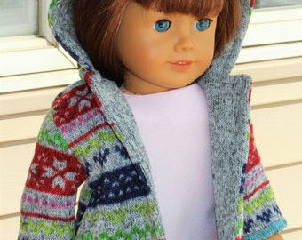 18 inch doll jacket, 18 inch doll coat, doll coat, doll jacket, fits like american girl clothes, baby doll clothes, doll clothes, dolls