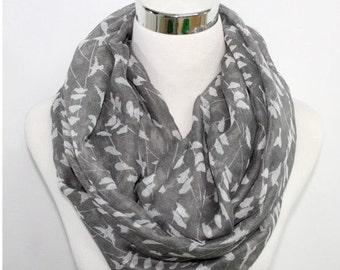 Seasonal Sales For ALL SCARVES  print infinity scarf, spring scarf, summer scarf, autumn scarf women, loop scarf, woman scarf, gift