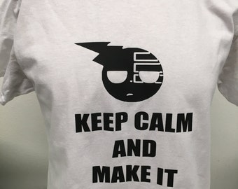 "Keep Calm and Make it Symmetrical ""Soul Eater"" T-Shirt"