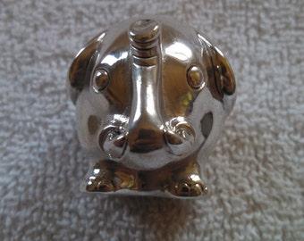 Bartolini Bartolozzi Sterling Silver 970 Elephant Figurine Made in Italy