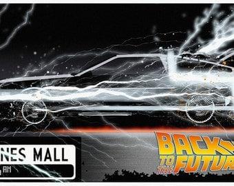 Back to the Future 11 x 17 Art Print
