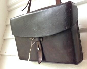 J. Fischli Bülach Circa 1930's leather writers bag
