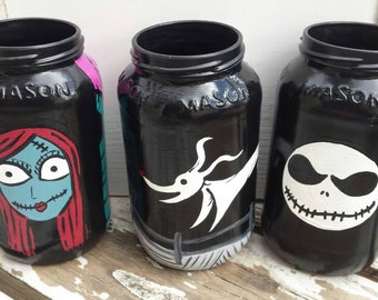 Nightmare Before Christmas Storage Jars Nbc Decoration Nightmare Before Christmas Decor Storage Jars