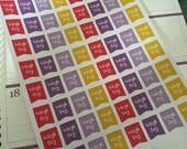 64 Weekly weigh day planner stickers and  great for most planners happy planner slimming world weight watchers