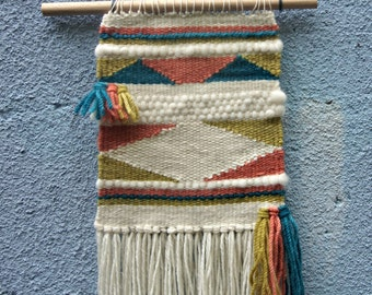 Woven Wall Hanging Summer Carnival