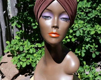 1970s ethnic turban, one size fits all