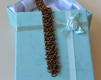 Byzantine Filigree Chainmail Bracelet
