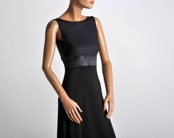 Classic Black Tango Dress Roxana