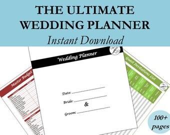 Wedding Planning Book, Wedding Planner Book, Wedding Binder, Wedding Timeline, Wedding Budget Planner, Wedding Planner Printable, #wp2