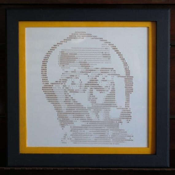 Ascii art picture c3po for Ascii decoration