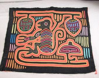 Kuna Hand Stitched Mola Blouse Panel
