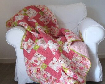 Baby Quilt, Quilt, Throw Quilts, Quilts, Handmade Patchwork Quilts, Patch Quilts, Homemade Quilts, Patchwork, Home & Living