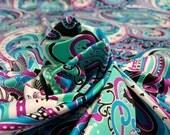 Summer Paisley Bathing Suit Fabric