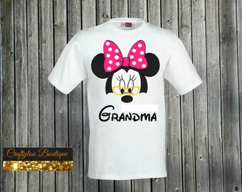 Grandma Disney Minnie Shirt