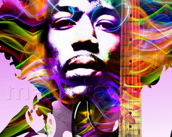 Jimi Hendrix, Jimi Hendrix Experience, print, poster