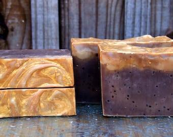 Mocha Coffee Soap / Handmade Soap / Cold Process Soap
