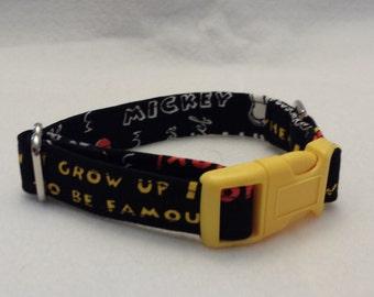 Mickey Mouse collar, Disney collar, Martingale collar, Buckle collar, dog collar