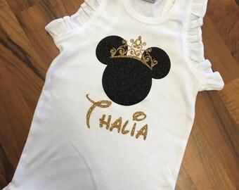 Personalized Princess Minnie Shirt/Onesie