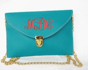 monogram purse,monogram clutch,monogrammed, clutch,monogrammed purse,envelope clutch,personalized,bridesmail gift,bridesmaid,clutch monogram