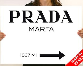 Modern painting Prada Marfa Gossip Girl 50x70cm canvas print
