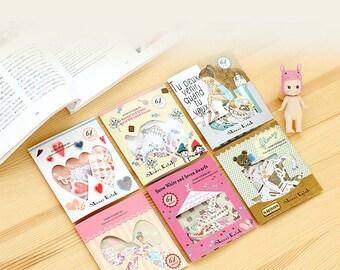 Shinzi Katoh Sticker Pack - Set E