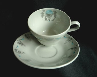 Eric Ravilious Travel Cup and Saucer - Wedgwood