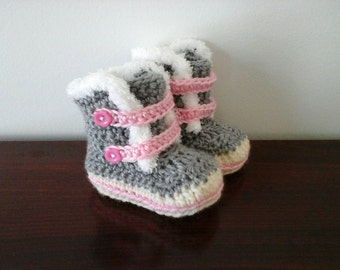 Boot to the crochet for baby, Baby booties (on order)