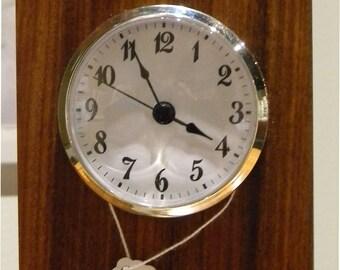 Woods of the World Desk Clocks