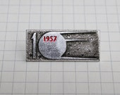 Vintage collectible badge - Space pin - Soviet Vintage Pin - Soviet Badge