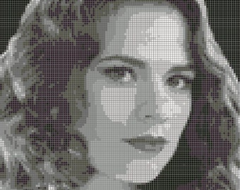 Agent Carter - Peggy Carter Cross Stitch Pattern