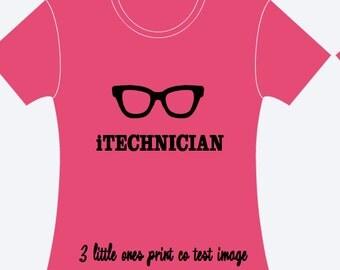 iTECHNICIAN Shirt Design