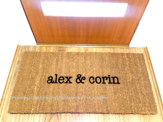 Extra Large Personalised Custom Made Coir By
