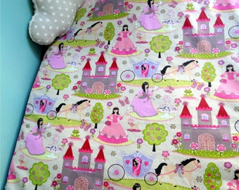 Baby blanket with filling and Cuddliest minky 100 x 75 - Princess