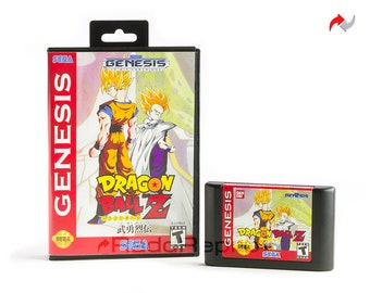 Dragon Ball Z: Buyū Retsuden Reproduction (Sega Genesis, 1994) Repro