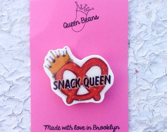 Snack Queen Pin