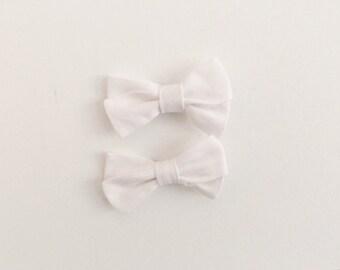 Mini Piggies in White